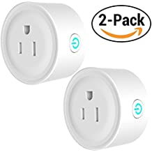 [Patrocinado] AvatarControls WiFi Smart Plug,Wireless Wifi Outlet Electrical Socket Compatible with Alexa/Google Assistant,Remote Control Timing Function On/Off Switch for Household Electrical Appliances (2-Pack)
