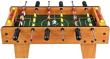 YUHT Futbolín Infantil,Juego de Mesas de Piscina Cubierta de futbolín de Mesa Mesa de fútbol for Adultos y niños de fútbol Juego de Mesa Divertido Juego(tamaño : 50x45x18cm): Amazon.es: Deportes y aire