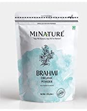 USDA Organic Brahmi Powder (Bacopa Monnieri) - 227 g / 8 OZ / 1/2 lb | Enhances Learning Capacity | Promotes Hair Growth