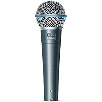 Amazon com: Shure BETA 57A Supercardioid Dynamic Microhone with High
