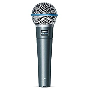 Shure BETA 58A Supercardioid Dynamic Vocal Mi...