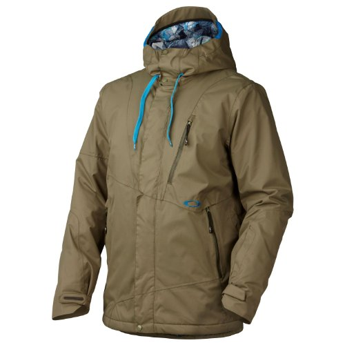 Price comparison product image Oakley Men's Division Jacket, Worn Olive, Large