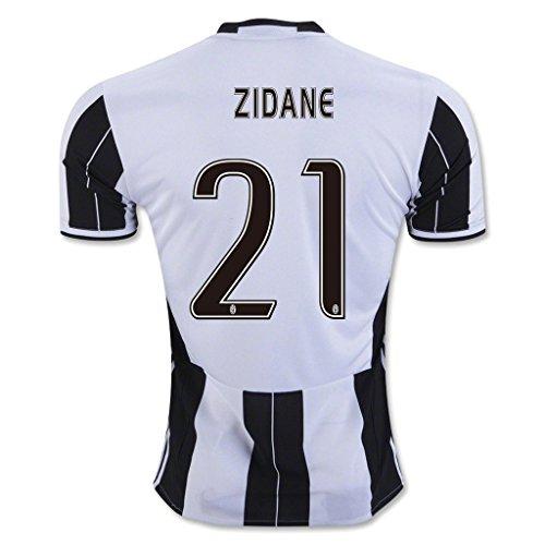 Zidane White Blacks Adult Soccer Jersey product image