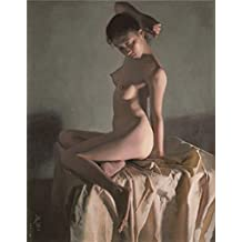 Canvas Prints Of Oil Painting ' Modern A Nude Woman ' , 18 x 23 inch / 46 x 59 cm , High Quality Polyster Canvas Is For Gifts And Bed Room, Gym And Living Room Decoration, art printing
