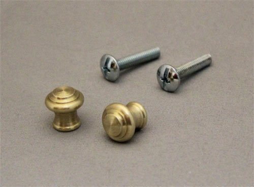small brass knobs - 2