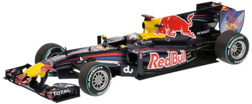 Minichamps 1:18 Scale 2010 Abu Dhabi GP Sebastian Vettel Red Bull Racing Renault RB6
