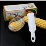 Magic New Magic Corn Remover Kitchen Tool With Steel Blades Corn Peeler Corn Remover ,Multicolor