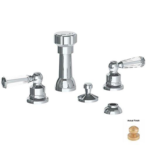 high-quality Watermark 314-4-CRY4-VEL Beverly Velvet Elite Brass (14K) 4 Hole Bidet