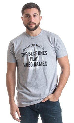 The Best Dads Play Video Games | Cute, Funny Gamer Dad Father's Unisex T-shirt