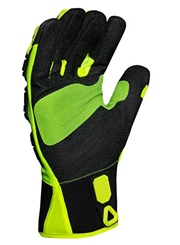 Ironclad KONG INDI-RIG-02-S Industrial Impact Rigger Oil & Gas Safety Gloves, Small by Ironclad (Image #1)