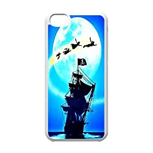 [H-DIY CASE] For Iphone 5c -Peter Pan -Never Grow Up -Take Me to The Neverland-CASE-12