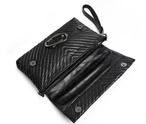 Diagonal Único Negro Satchel Shopping Shoutibao Cross Bolso Cover Mano Package Trabajo Señora De q4YRF