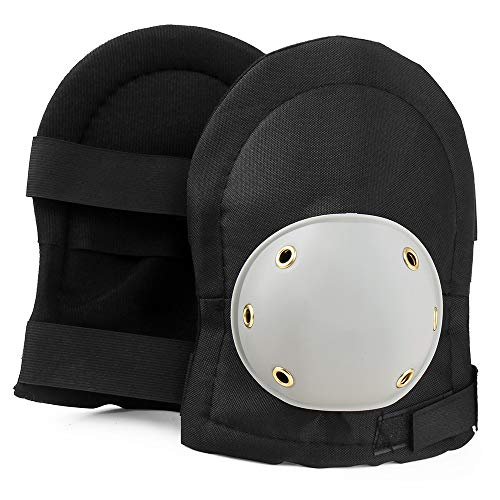 nee Pads with Foam Padding, Tough Outer and Wide Protection Shell for DIY. Universal Size (2 Piece) ()