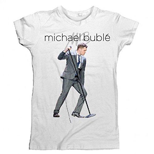 MICHAEL BUBLE - WELTTOURNEE - OFFIZIELES DAMEN T-SHIRT