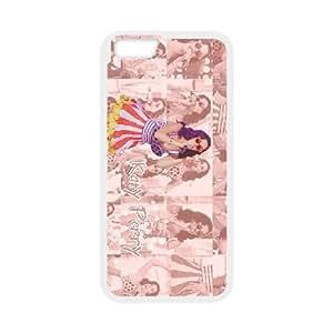 funda iPhone KATY PERRY ESTILO RETRO 6 4.7 pufunda LGadas funda del teléfono celular de cubierta blanca, el funda iPhone 6 4,7 casos pufunda LGadas Funda blanco