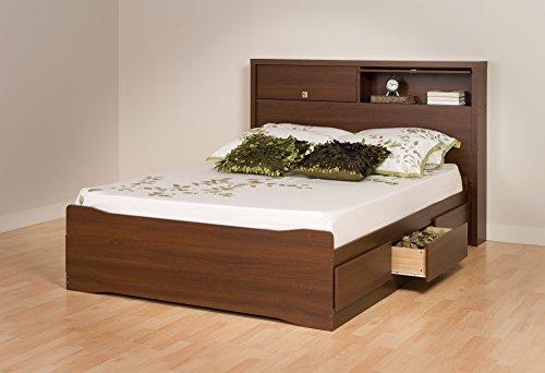 queen storage bed frame - 9