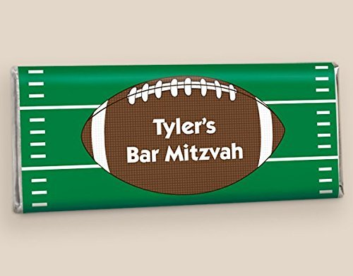 - Personalized HERSHEY'S Bars for Bar Mitzvah He's Got Game Wrappers Only (25 Wrappers)