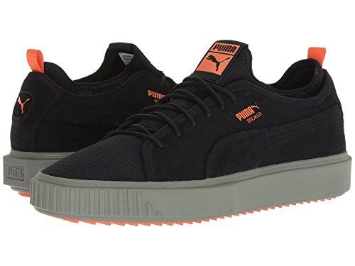 [PUMA(プーマ)] メンズランニングシューズ?スニーカー?靴 Breaker Mesh FOF Puma Black/Laurel Wreath/Firecracker 8.5 (26.5cm) D - Medium