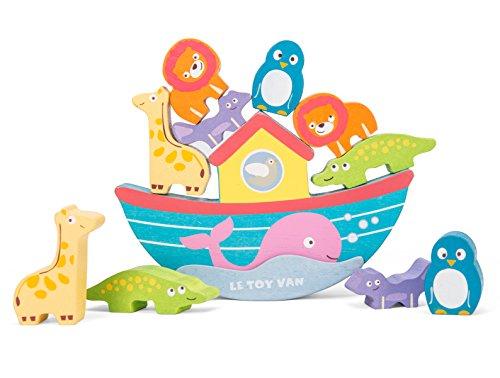 Le Toy Van Noah's Balancing Ark Baby (Noahs Ark Animal Match Game)