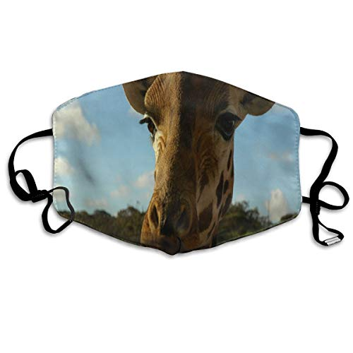 Funshiny Awesome Mask Reusable Anti Dust Face Mouth Cover So Cute Giraffe Mask Warm Windproof