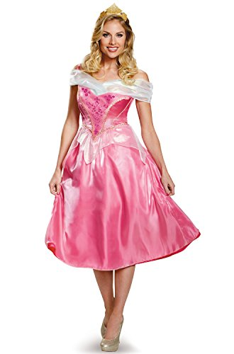 Disguise Women's Aurora Deluxe Adult Costume,