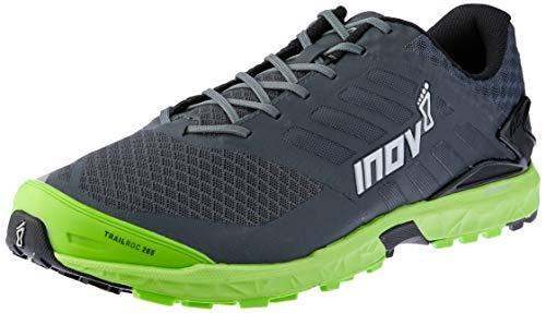 Inov-8 Mens Trailroc 285 Trail Running Shoe - Grey/Green - 000629-GYGR-M-01 (Grey/Green - M11.5 / W13)