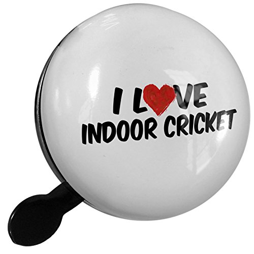 Small Bike Bell I Love Indoor Cricket - NEONBLOND by NEONBLOND