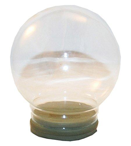 40007–Palla di neve per te–Do It Yourself (DIY) vetro di ricambio diametro 120mm Schneekugelhaus