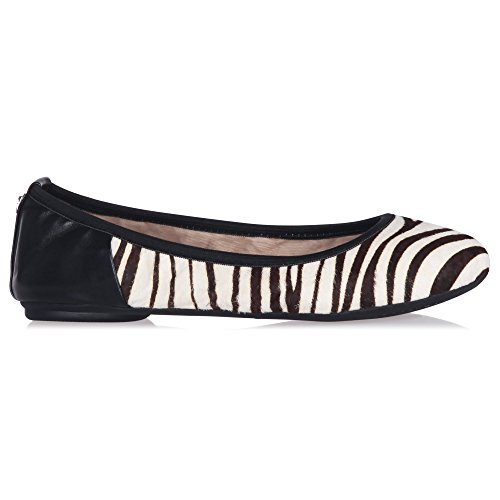 Butterfly Twists Damen Vivienne Faltbar Ballerina Pumps UK6 - EU39 - US8 - AU7 Zebra