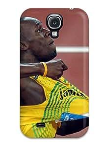 Perfect Fit NLRKkIM2588hnHGU Usain Bolt Running Case For Galaxy - S4