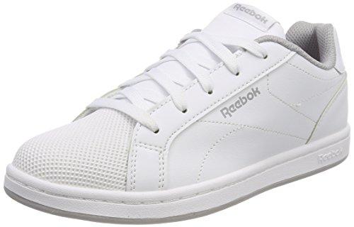 Reebok Royal Complete CLN, Zapatillas de Gimnasia Para Niños Blanco (White/Stark Grey 000)