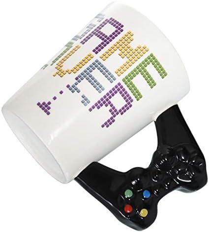Monland Game Fin Tasse /à Caf/é 3D Contr?Leur De Jeu Traitement Tasse en Porcelaine Tasse Tasse /à Th/é De Lait Game Boy Cadeau danniversaire