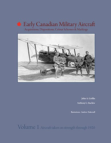 Early Canadian Military Aircraft: Acquisitions, Dispositions, Colour Schemes & Markings: Volume 1: Aircraft taken on strength through 1920