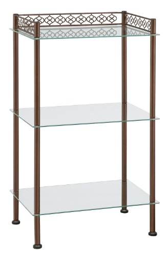 Organize It All Morocco 3-Tier Shelf