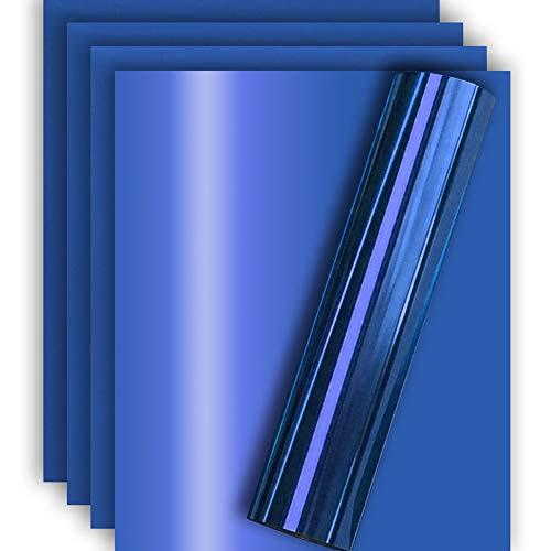 - Royal Blue Metallic Foil HTV Heat Transfer Vinyl for Tshirt and Apparel 12