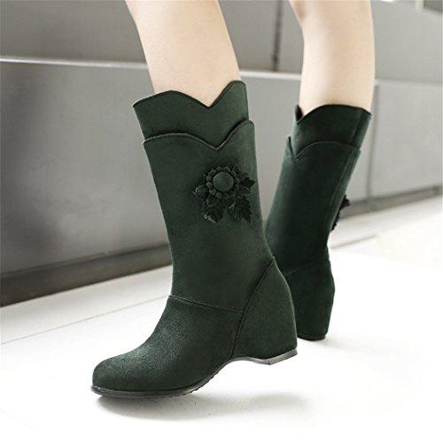 stivali scrub camoscio Il stivali codice di green fiore in ZQ nostro manicotto QXregalo Natale pw80qHTH