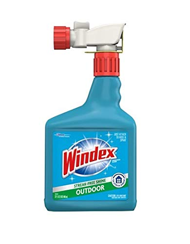 Windex Outdoor Sprayer, Blue Bottle, 32 fl oz (2 Pack) - Brand New and Fast Shipping