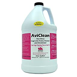 AviClean Non-Rinse Cage and Aviary Cleaner Gallon