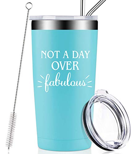 Not A Day Over Fabulous Travel Mug - 5 Colors