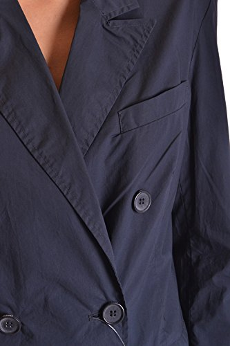 Aspesi Mujer MCBI150164O Azul Algodon Trench Coat