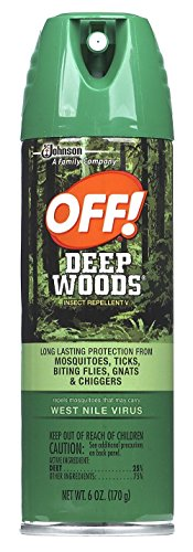 Off Deep Woods Insect Repellent 6 Ounce Spray Aerosol (177ml) (6 (Deep Woods Aerosol)