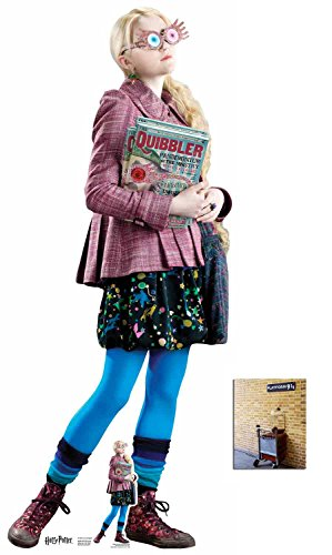Fan Pack - Luna Lovegood (Evanna Lynch) Harry Potter Lifesize and Mini Cardboard Cutout / Standup - Includes 8x10 Star Photo]()