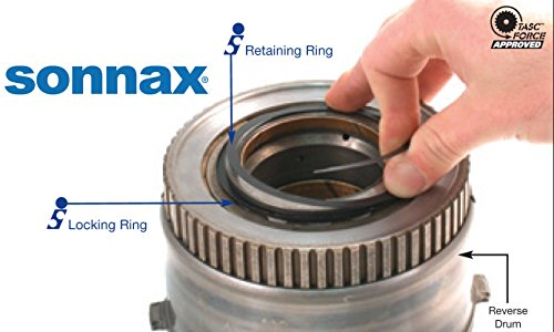 AOD AODE 4R70W Intermediate Clutch Spiral Retaining Rings by Sonnax