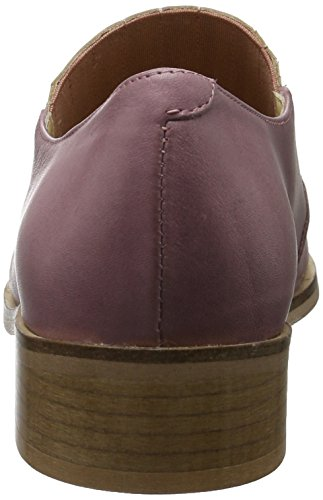 velvet Rosa COPENHAGEN Mujer Pointy para Rose Shoe Mocasines And GARDENIA Old Flat Suede fBUqUR