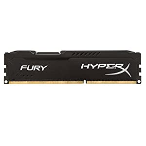 Kingston HyperX FURY 8GB 1333MHz DDR3 CL9 DIMM - Black (HX313C9FB/8) 41jcP r12XL. SS300