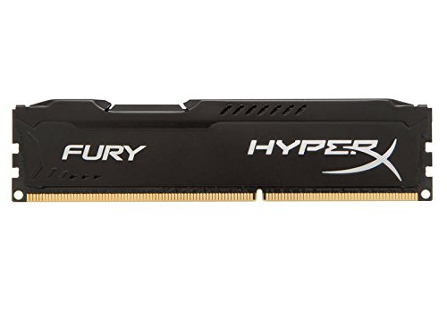 Kingston HyperX FURY 8GB 1333MHz DDR3 CL9 DIMM - Black (HX313C9FB/8)