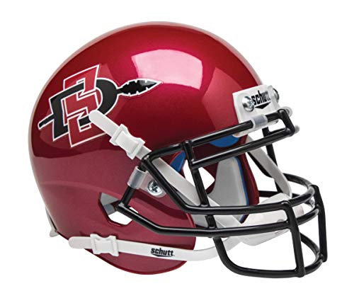 Schutt NCAA Mini Authentic XP Football Helmet, San Diego State ()