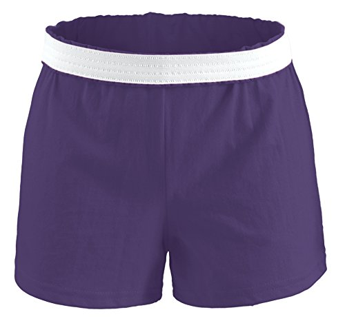 Soffe Youth Girls' Authentic Soffe Shorts, Purple, X-Small
