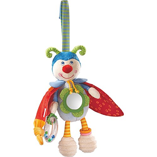 Haba Mirror (HABA Play Figure Beetle Bodo - Rattling, Rustling& Bouncing Plush Activity Toy for Ages 6 Months +)