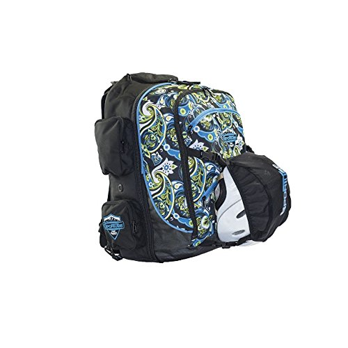 Sportube Over Header Carry On Backpack Boot Bag, Paisley by Sportube